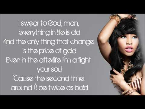 Nicki Minaj  Here I Am Lyrics