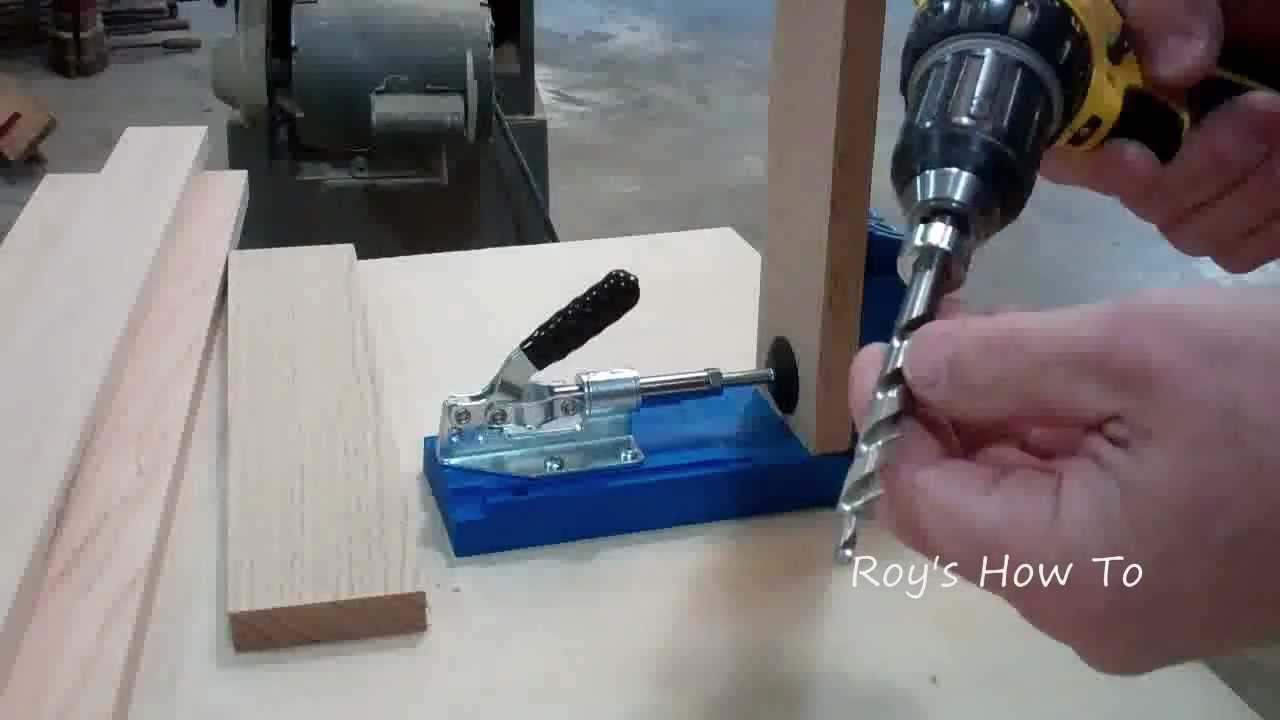 Building a Cabinet Face Frame Using a Kreg Jig - YouTube