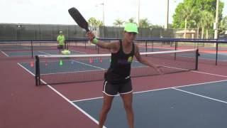 Pickleball Tutor Tips: How to Hit the Swinging Volley