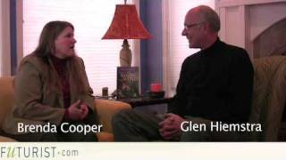 Brenda Cooper on her science fiction novels w/Glen Hiemst...