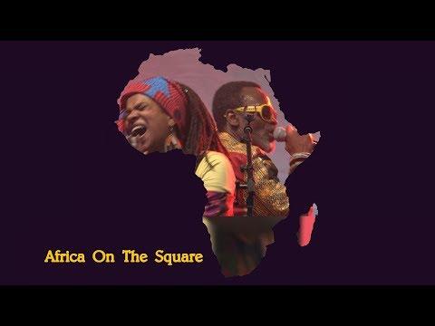 Africa on the Square 2017  - Yaaba  Funk  (Ghana) - Trafalgar Square London