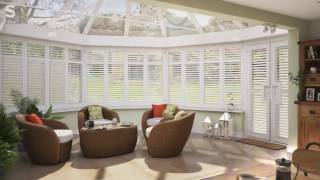 Conservatory Plantation Shutters from S:CRAFT