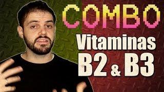 [COMBO] Vitaminas B2 e B3