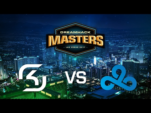 SK-Gaming vs. Cloud9 - Overpass - Group C - DreamHack Masters Las Vegas 2017