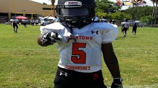 Footballville Pop Warner championship 90s Florida City vs Overtown