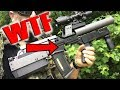 Custom Compact DMR Airsoft Sniper Gameplay