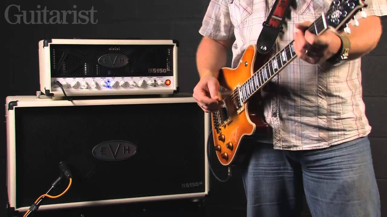 60d8855b7d5 EVH 5150-III 50W guitar amplifier demo - YouTube