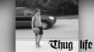 Hey Ladies - Kid Throws Basket Ball at Girls Riding Bikes - Funny/Hilarious Fail - Thug Life