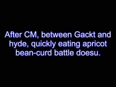 Gackt and Hyde All Night Nippon (English sub)