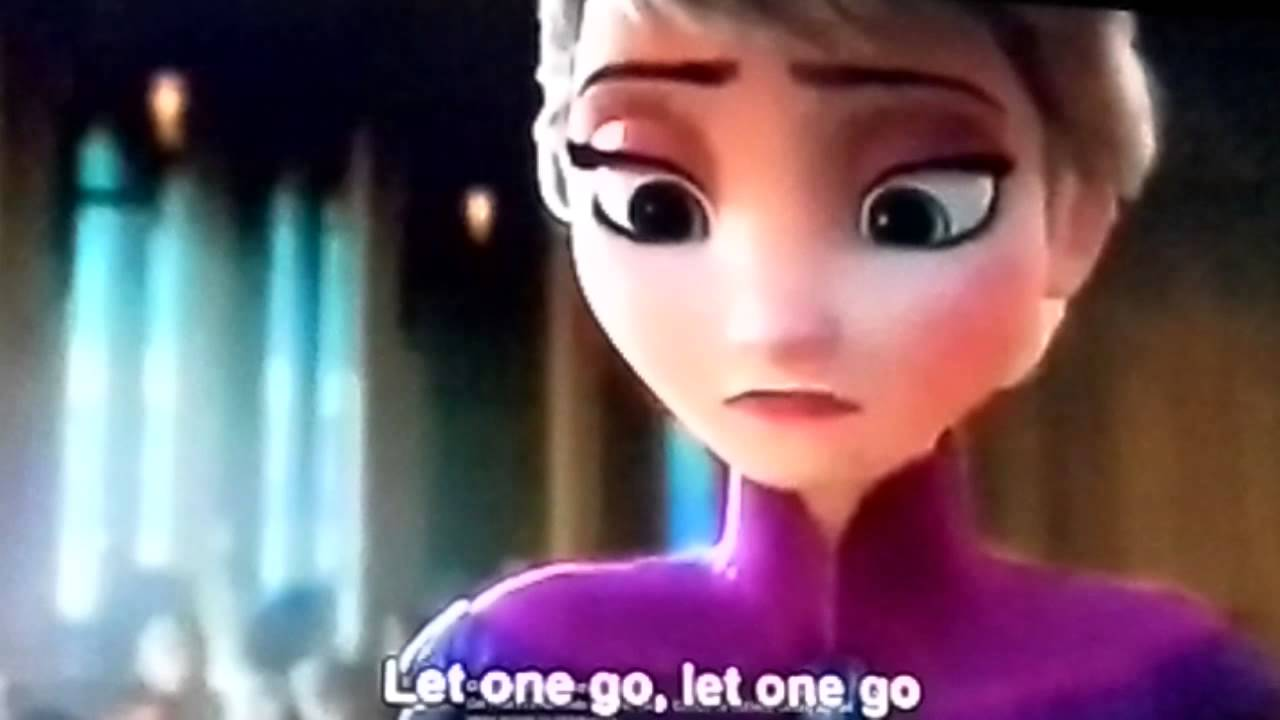 Let it go poo song
