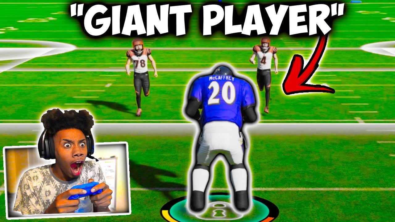 Playing This NEW Game Mode In MADDEN With A 500 Pound 7 Foot GIANT!!!