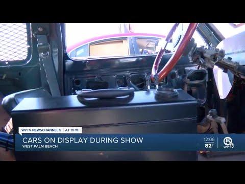 West Palm Beach Car Detailing Business Holds Car Show