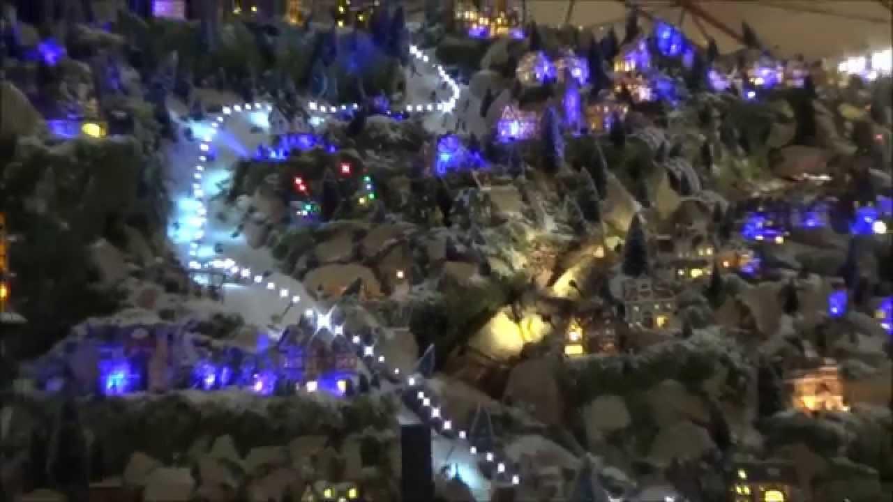 intratuin rhoon kersthuisjes 2014 youtube