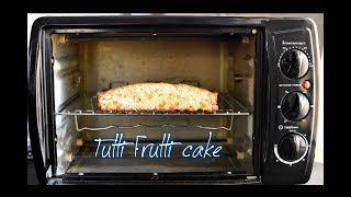 How to make Tutti Frutti ( Vanilla ) Cake using Prestige POTG 19 PCR OTG