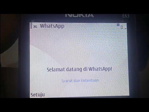 Login Whatsapp Di Symbian. Masih Bisa? | Symbian Os Nokia E63