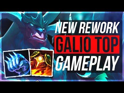 TRUE POWER OF GALIO REWORK - Tank Top Gameplay | League of Legends