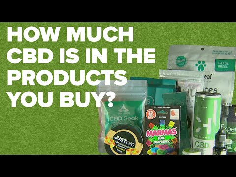 We had CBD products tested in a lab. Here's what we found.