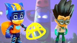 8bacaf1c94f7d PJ Masks Cow Destroys Headquarters PJ Mask Move to New HQ Fight ...