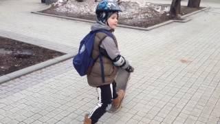 Как научиться кататься на скейтборде. Урок 1