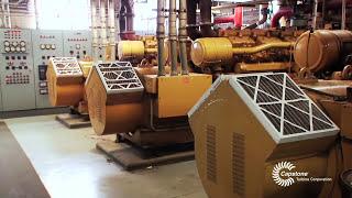 Methane Gas Fueled Microturbine | Green Energy | Capstone Turbine