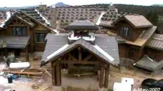 Everlog™ Systems - Construction Time Lapse Of Mountain Living's Natural Dream Luxury Log Home