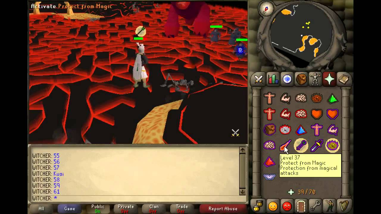 Old School Runescape: TzTok-Jad & Fire Cape (sounds)