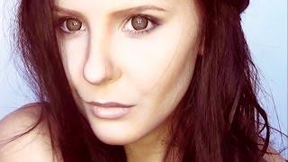 Nina Dobrev the Vampire Diaries Elena make up tutorial by Anastasiya Shpagina