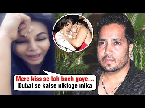 SHOCKING Rakhi Sawant CRIES Over Mika Singh Arrest In Dubai