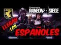 AGENTES ESPAÑOLES OPERACIÓN VELVET SHELL / Rainbow Six Siege Gameplay Español