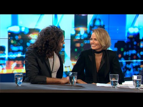 Russell Brand (& Lara Bingle) - Full Interview on 'The Project'