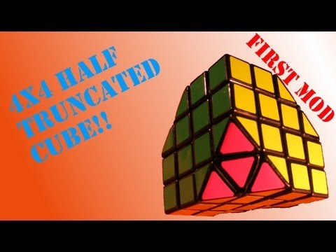 4x4 half truncated cube
