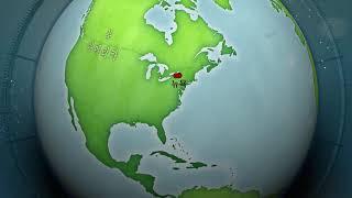 미국 서부 동부 지도 영상