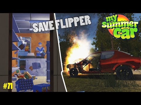 Save Destruction - Flipping Kirobody's Save Game | My Summer Car