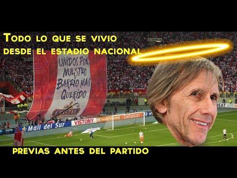 Previas antes del partido(Estadio Nacional) + Himno Nacional | Perú vs Nueva Zelanda| Repechaje