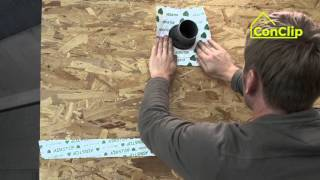 ConClip 5 PL – Szczelność powietrzna - uszczelnienie kabli i rur
