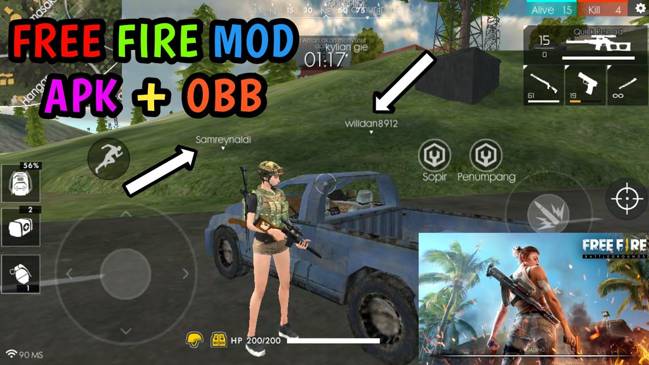 Free fire full apk mod   Garena Free Fire Mod Apk v1 27 0