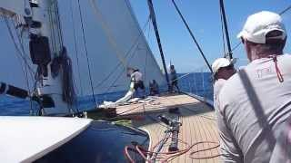 St Barths Bucket superyacht regatta – racing aboard 'P2'