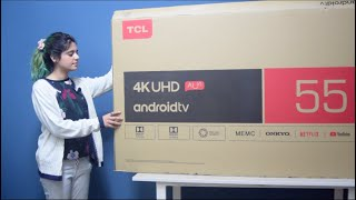 TCL 55 Inch C8 4K UHD AI TV Review
