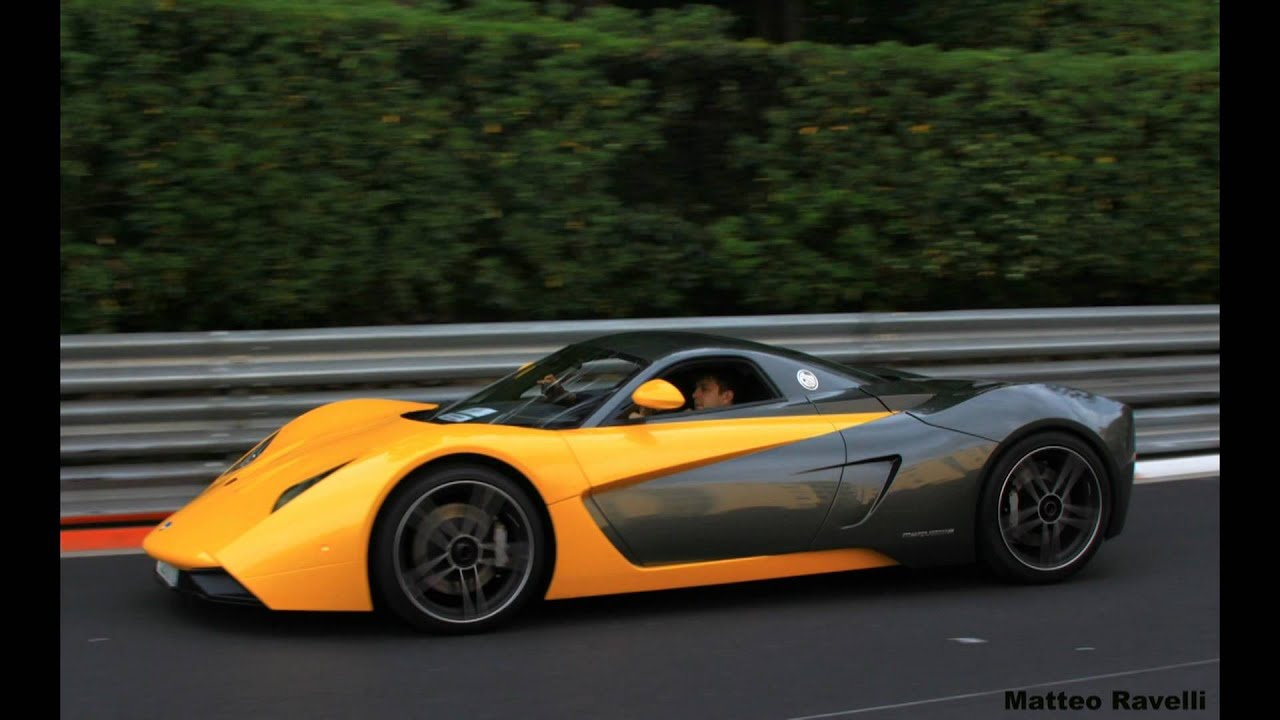 Marussia B1 at Top Marques Monaco - YouTube