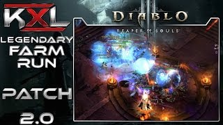 Diablo 3 - Patch 2.0 - Legendary Farm/Level-Route [Deutsch][HD+] ➥ Let's Guide