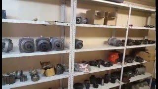 Запчасти к отечественной спецтехнике на складе в Челябинске (пример - гидромоторы)(Компания