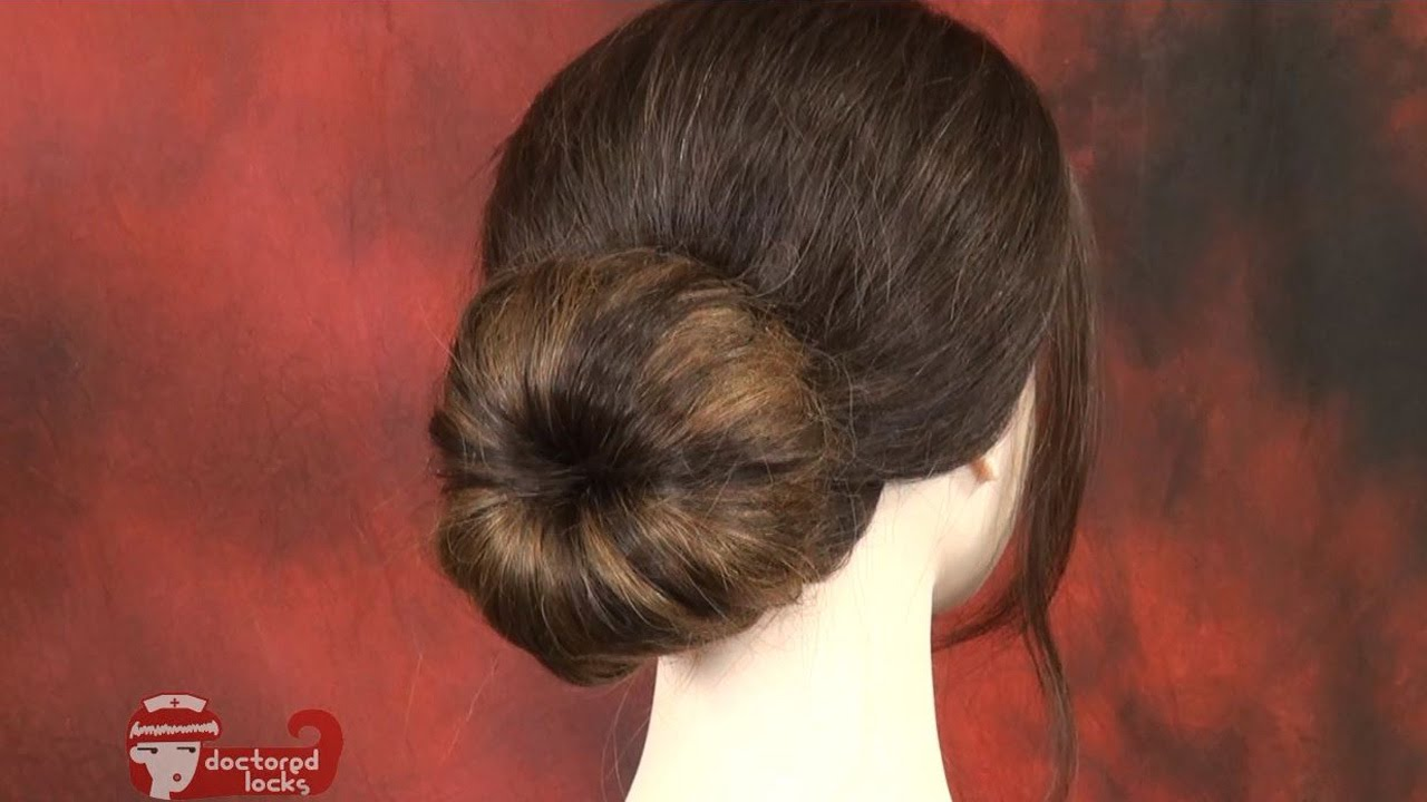 Creating a flawless bun on short hair with extensions creating a flawless bun on short hair with extensions doctoredlocks youtube pmusecretfo Gallery