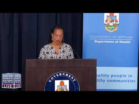 Minister of Health Kim Wilson Press Conference, April 22 2019