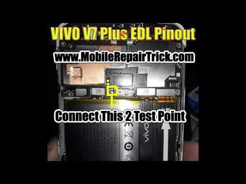 VIVO V7 Plus Edl Pinout | Edl Test Point - MobileRepairTrick com
