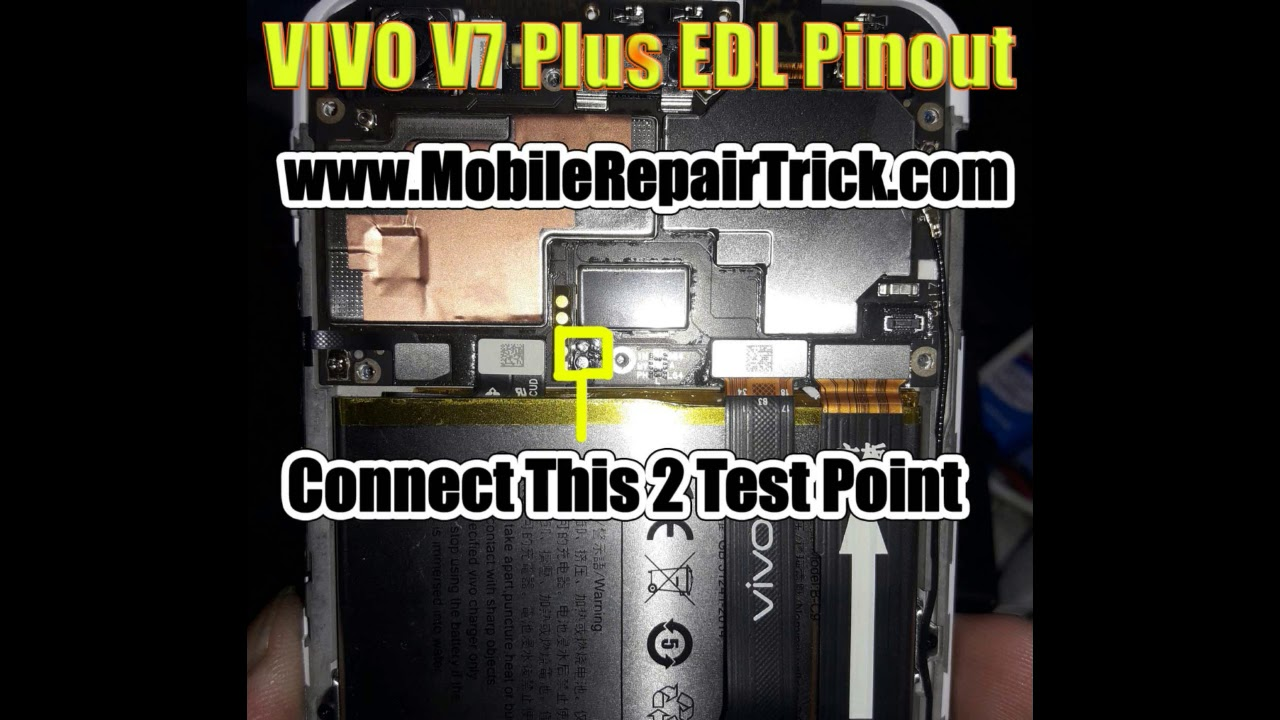VIVO V7 Plus Edl Pinout | edl test point - www GsmClinic com