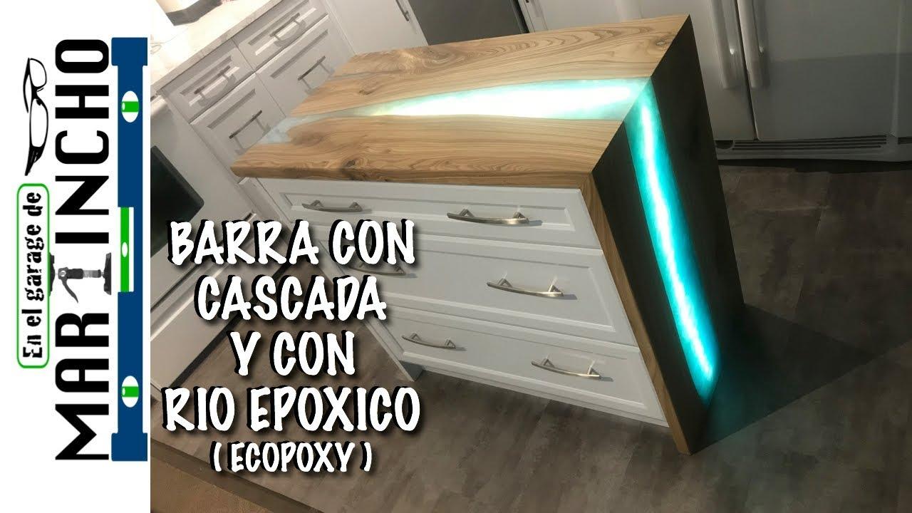 Download Barra con Cascada con Resina Epoxica