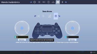 """Que es la """"Zona Sin Uso"""" en Fortnite y su mejor configuracion para PS4/Xbox"""