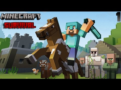 Minecraft Xbox One New Survival Lets Play - Episode 1 | Where to live!?!?