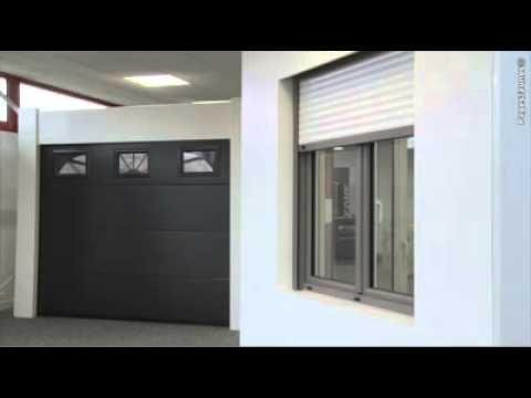 Ikone fermetures aux sorinieres en loire atlantique youtube for Garage ad loire atlantique