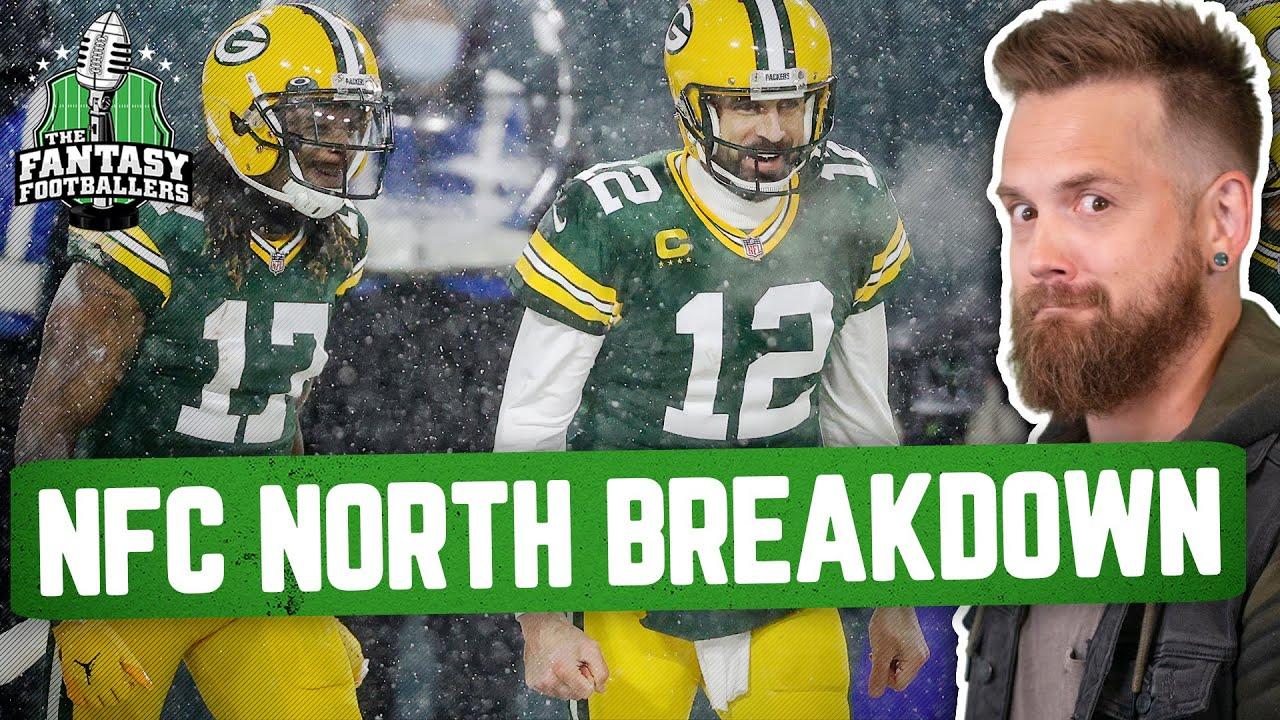 Fantasy Football 2021 - NFC North Breakdown + The Last Dance, Crazy Promises! - Ep. 1078